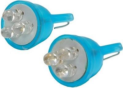 led lamp 12v 5w w2 1x9 5d t10 blauw 2 stuks wij houden u. Black Bedroom Furniture Sets. Home Design Ideas