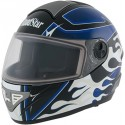 Roadstar Integraal Helm Rocket Flame