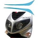 Booskijker Peugeot Speedfight 1/2 Opticparts