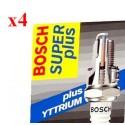 BOSCH Bougie WR7D+ 4 Stuks