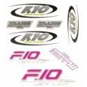 Malaguti F10 Sticker Set