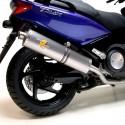 Uitlaat Yamaha T-Max 500 LeoVince SBK 7533