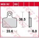 Lucas TRW MCB 766 RSI Remblokken