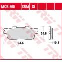 Lucas TRW MCB 800 SRM SI Remblokken