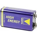 Batterij 9V LR61 Varta High Energy