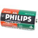 Batterij LR20 Philips Powerlife 2 Stuks