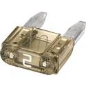 Steekzekering Mini 2A Hella 50 Stuks