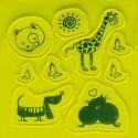 4-Act Reflecterende Sticker Set