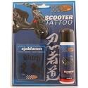 Scooter Tattoo Naughty Zwart
