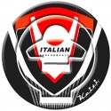 Keiti Ducati Tankdop Fuel Cap Pad