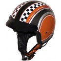 Roadstar Jet Helm Shorty Custom Checker
