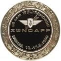 Zündapp Monza Weltrekorde Embleem