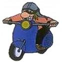 Speldje Scooterrijder