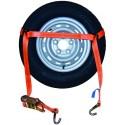 Spanband Autowiel Autotransport Autoambulance