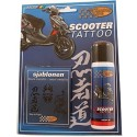 Scooter Tattoo Sturdy Zwart