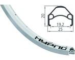 Voorwiel 26 Inch Shimano HB-RM40A 36 Gaats Zilver