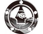 Keiti Kawasaki Tankdop Fuel Cap Pad