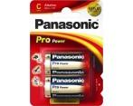 Batterij LR14 Panasonic Pro Power 2 Stuks