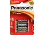 Batterij AAA Panasonic Pro Power 4 Stuks